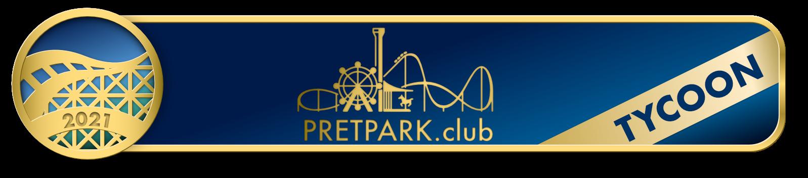 Pretpark.club Tycoon award