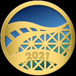 Pretpark.club Tycoon 2021 Badge!